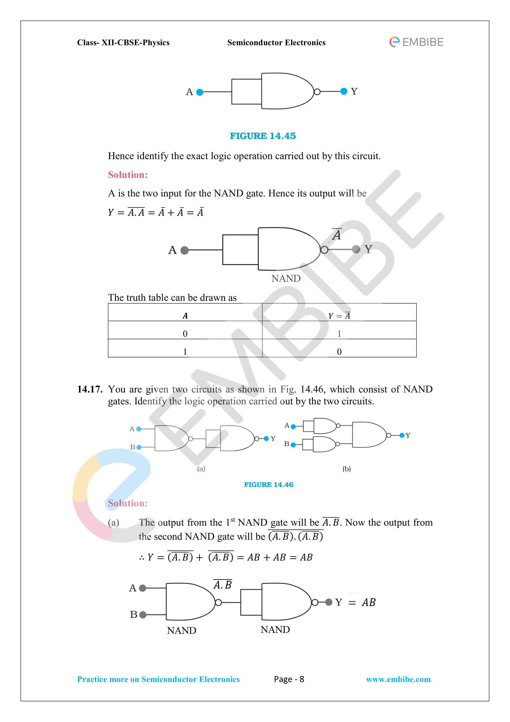 NCERT_Grade-12_Physics_Ch_14_Semiconductors-08 Circuit Diagram Of Full Wave Rectifier Ncert