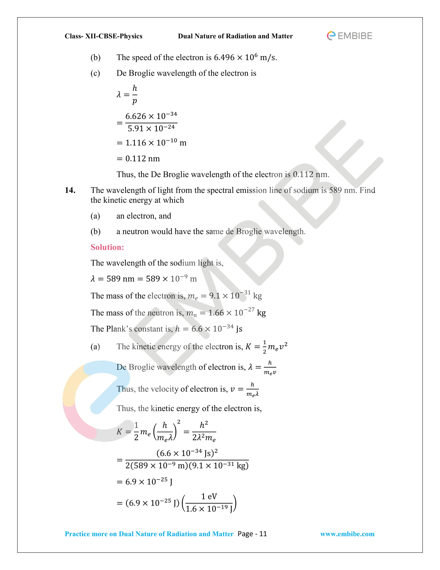 CBSE NCERT Solutions For Class 12 Physics Chapter 11 PDF Download