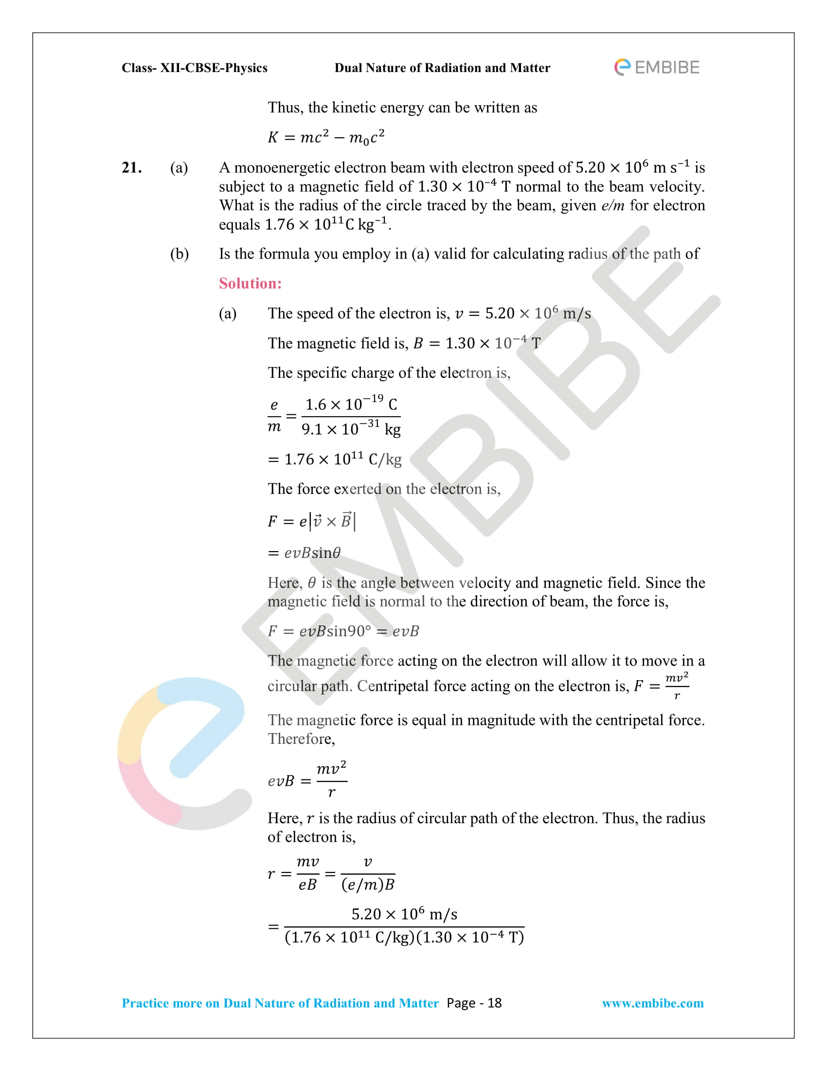 NCERT_Grade 12_Physics_Ch_11_Dual Nature of Radiation and Matter-18