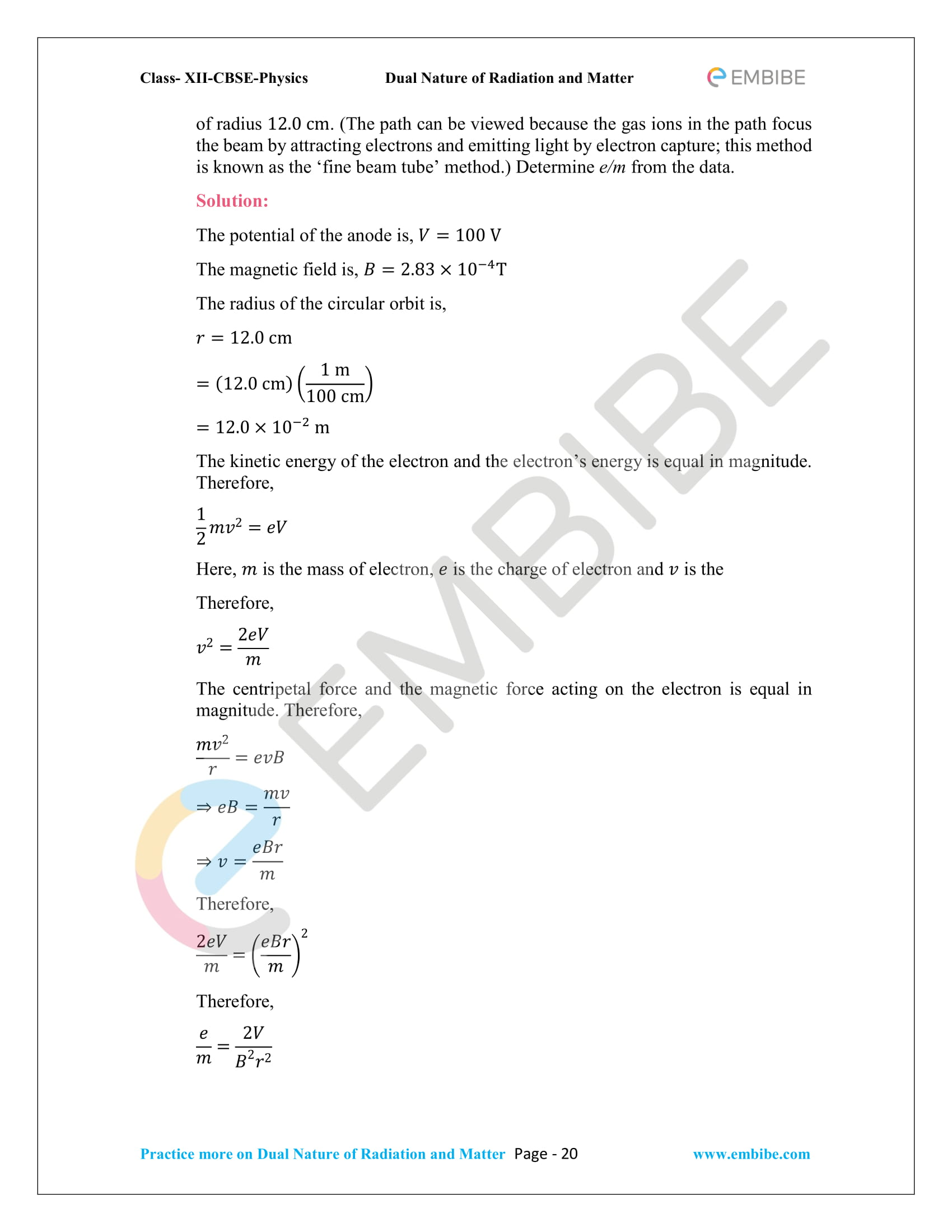 NCERT_Grade 12_Physics_Ch_11_Dual Nature of Radiation and Matter-20
