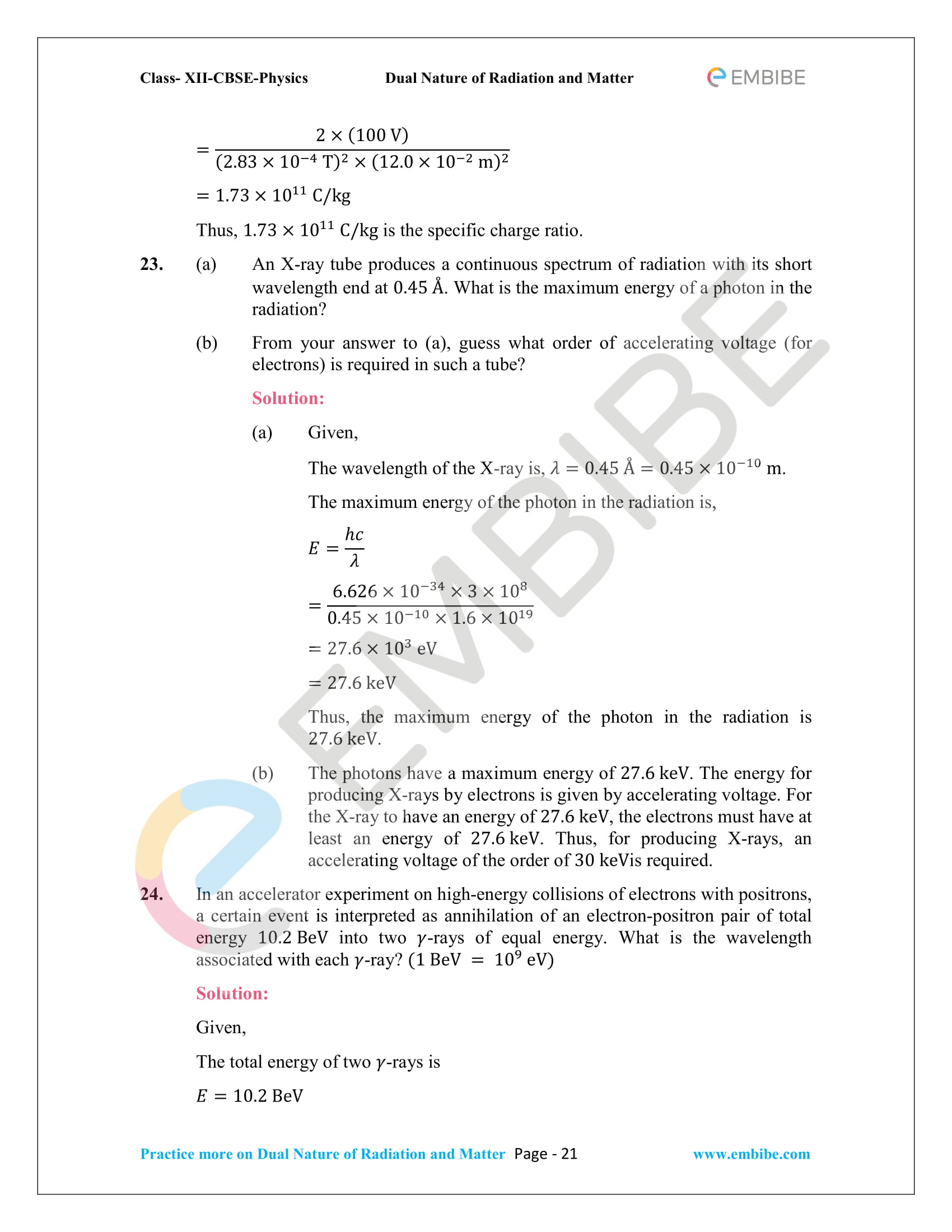 NCERT_Grade 12_Physics_Ch_11_Dual Nature of Radiation and Matter-21