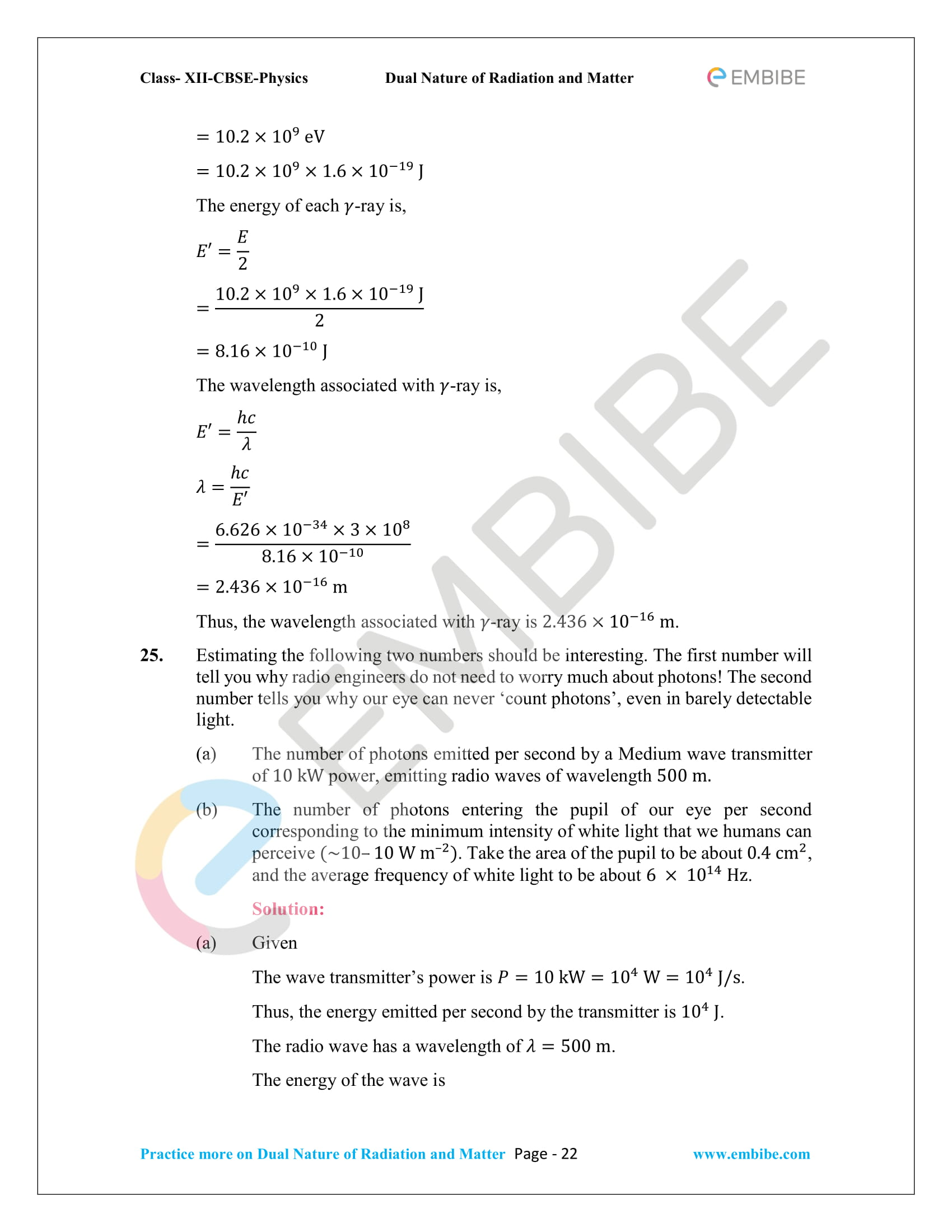 NCERT_Grade 12_Physics_Ch_11_Dual Nature of Radiation and Matter-22