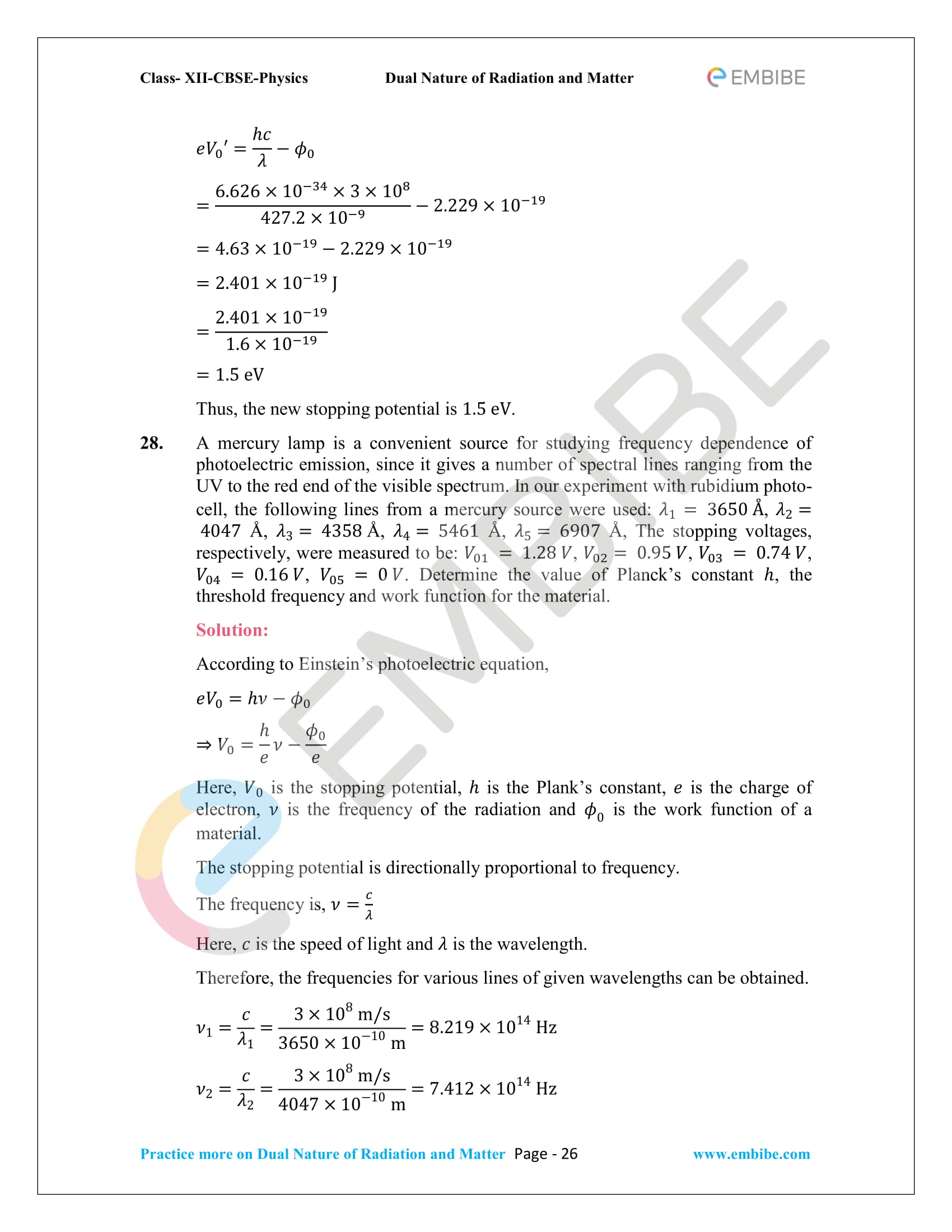 NCERT_Grade 12_Physics_Ch_11_Dual Nature of Radiation and Matter-26