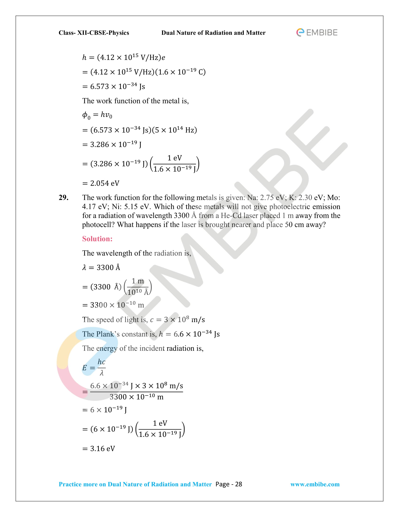 NCERT_Grade 12_Physics_Ch_11_Dual Nature of Radiation and Matter-28