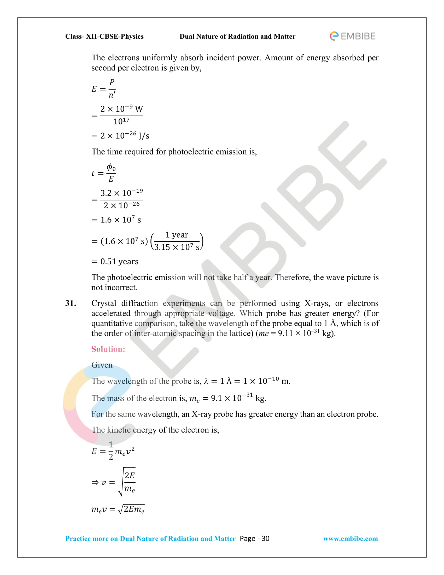 NCERT_Grade 12_Physics_Ch_11_Dual Nature of Radiation and Matter-30