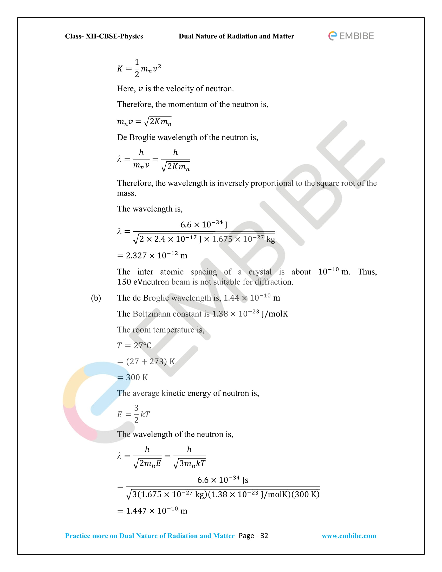 NCERT_Grade 12_Physics_Ch_11_Dual Nature of Radiation and Matter-32