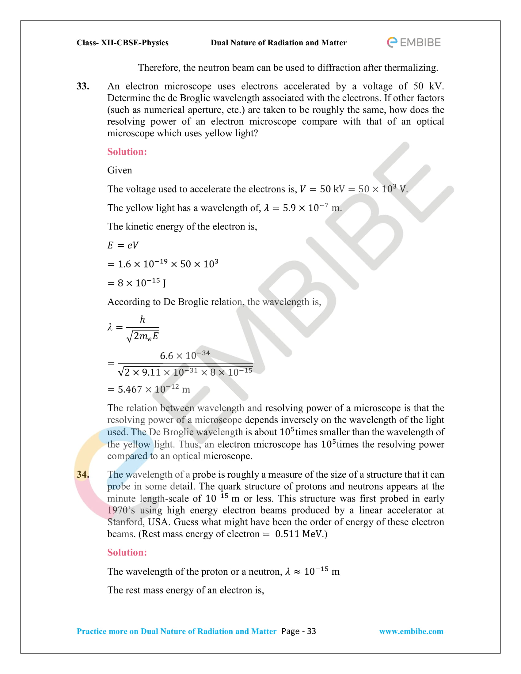 NCERT_Grade 12_Physics_Ch_11_Dual Nature of Radiation and Matter-33