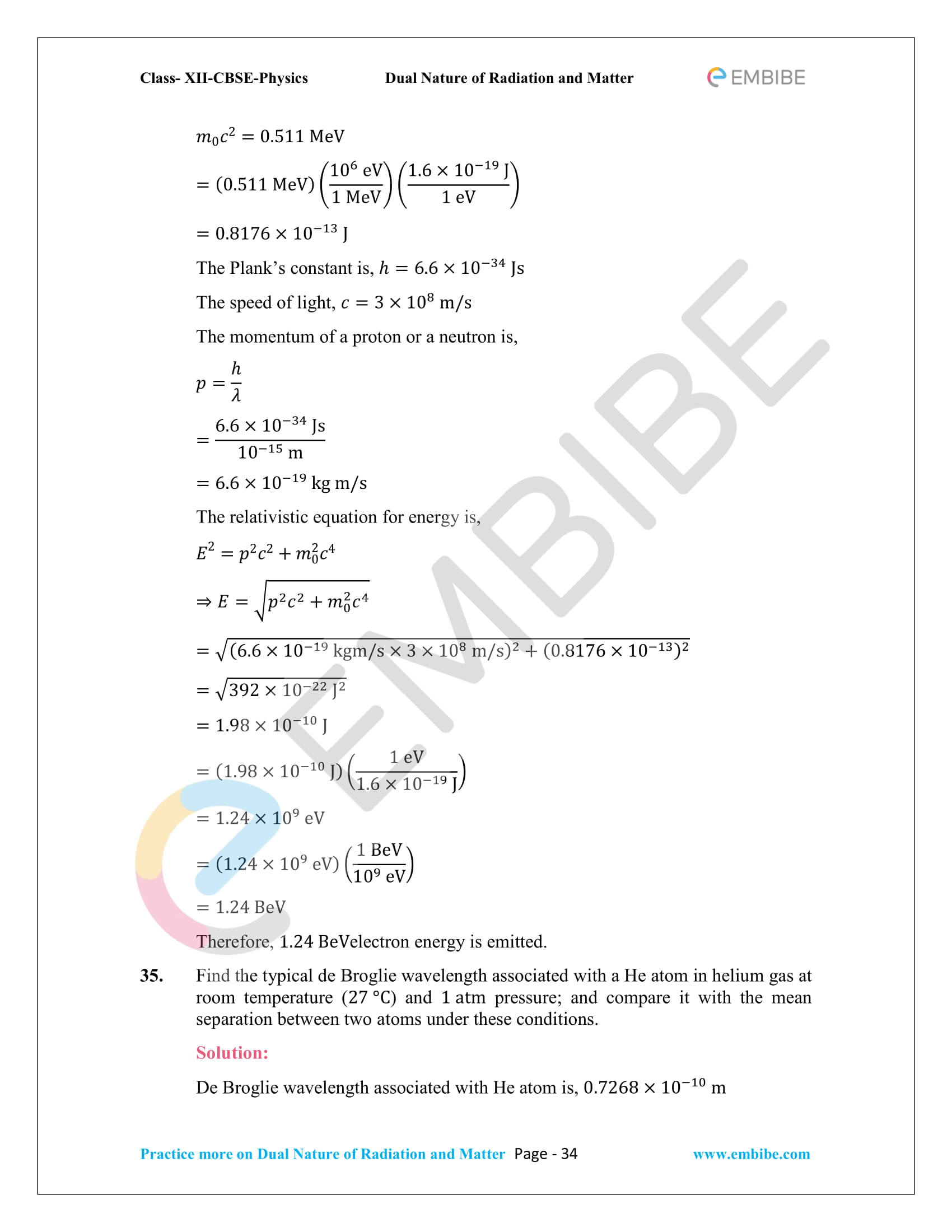 NCERT_Grade 12_Physics_Ch_11_Dual Nature of Radiation and Matter-34
