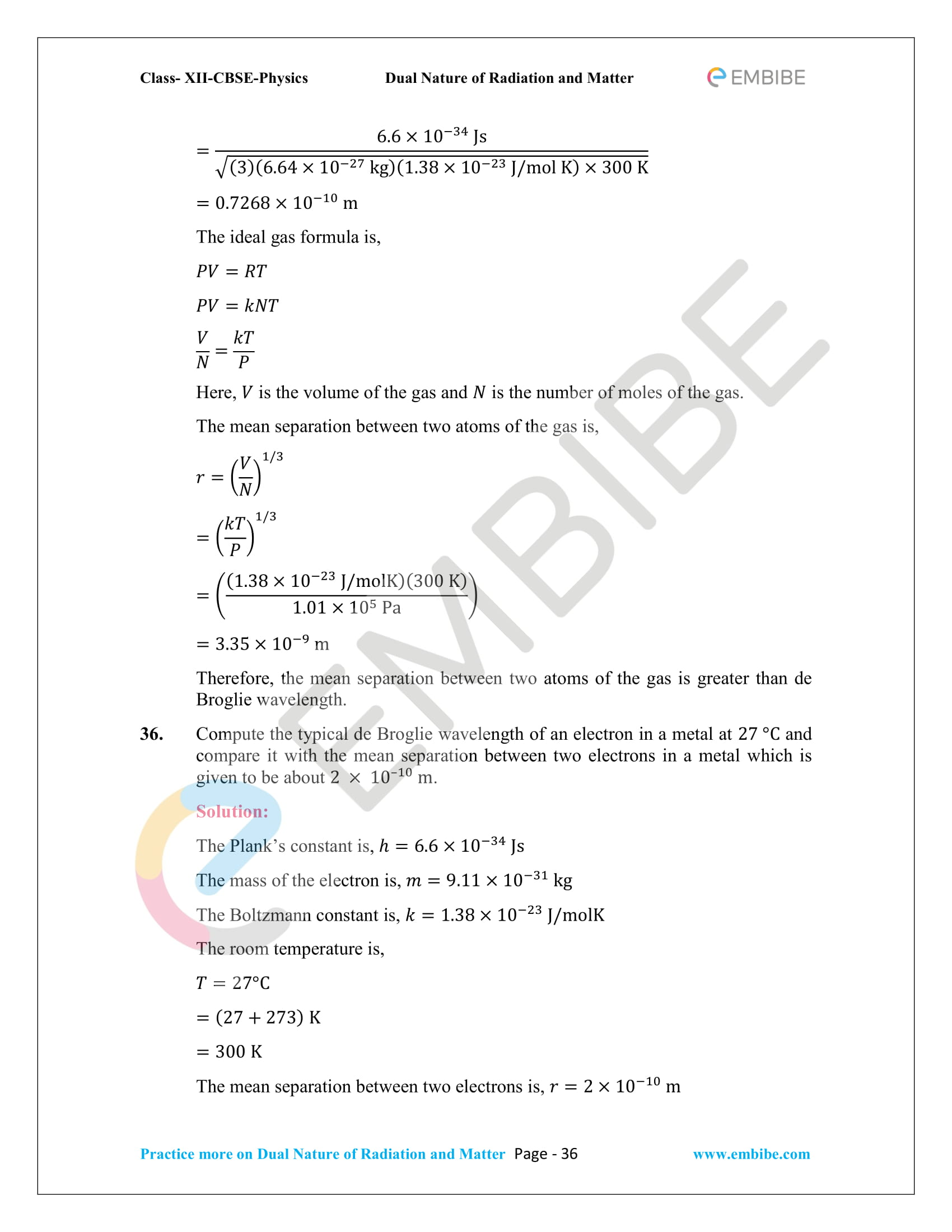 NCERT_Grade 12_Physics_Ch_11_Dual Nature of Radiation and Matter-36