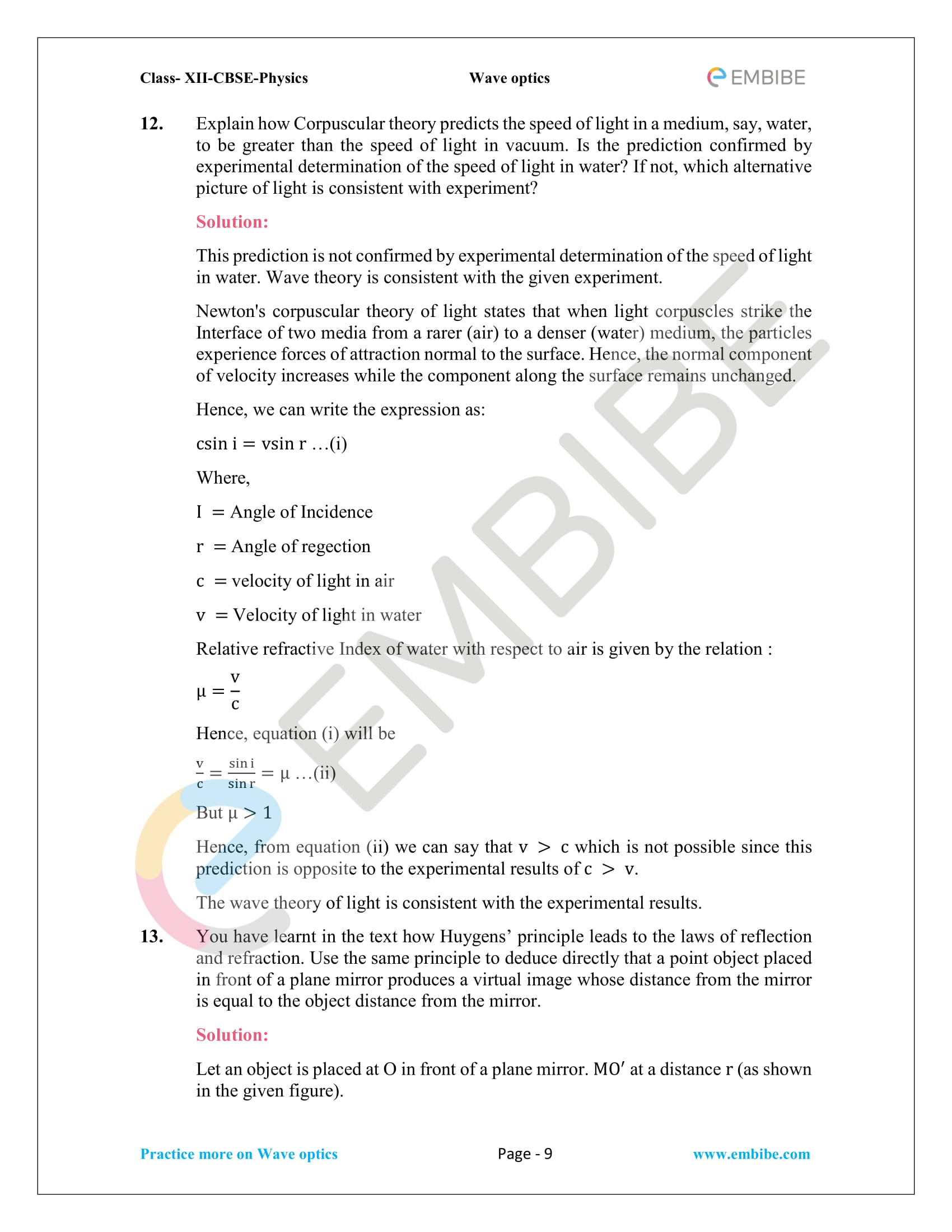CBSE NCERT Solutions For Class 12 Physics Chapter 10 PDF Download