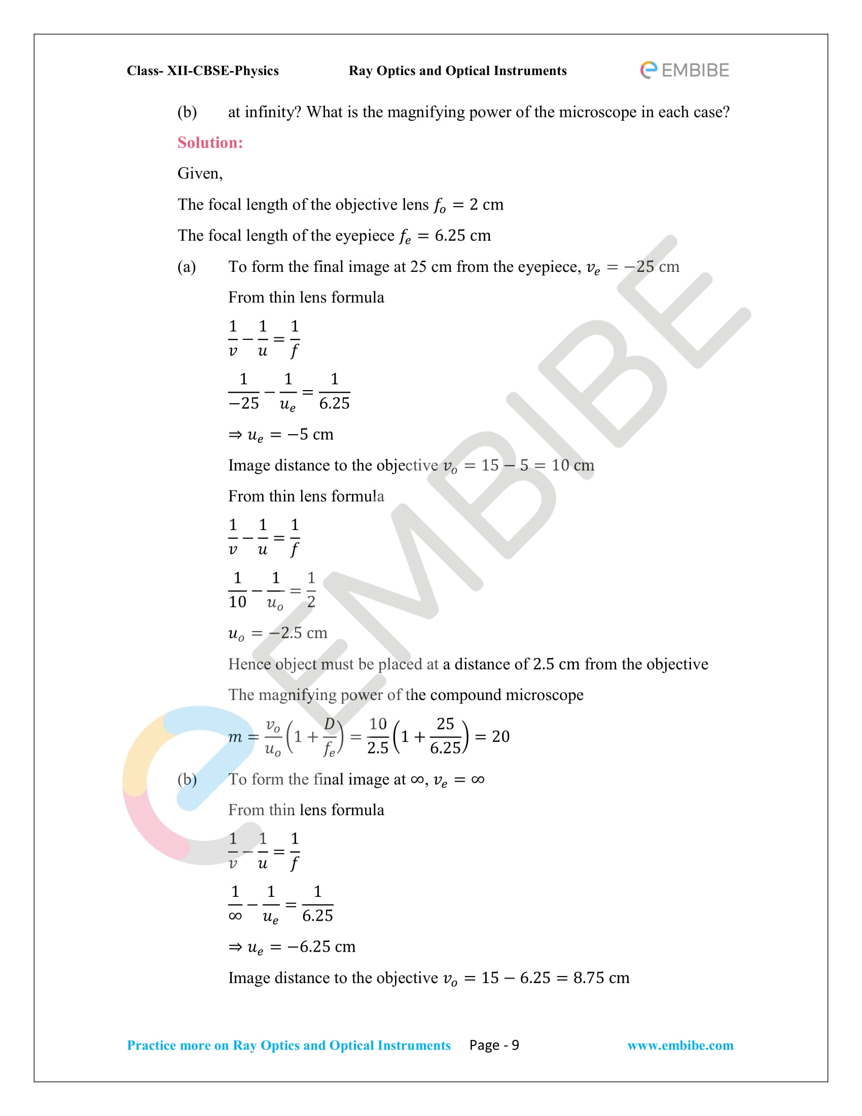 CBSE NCERT Solutions Class 12 Physics Chapter 9 PDF Download