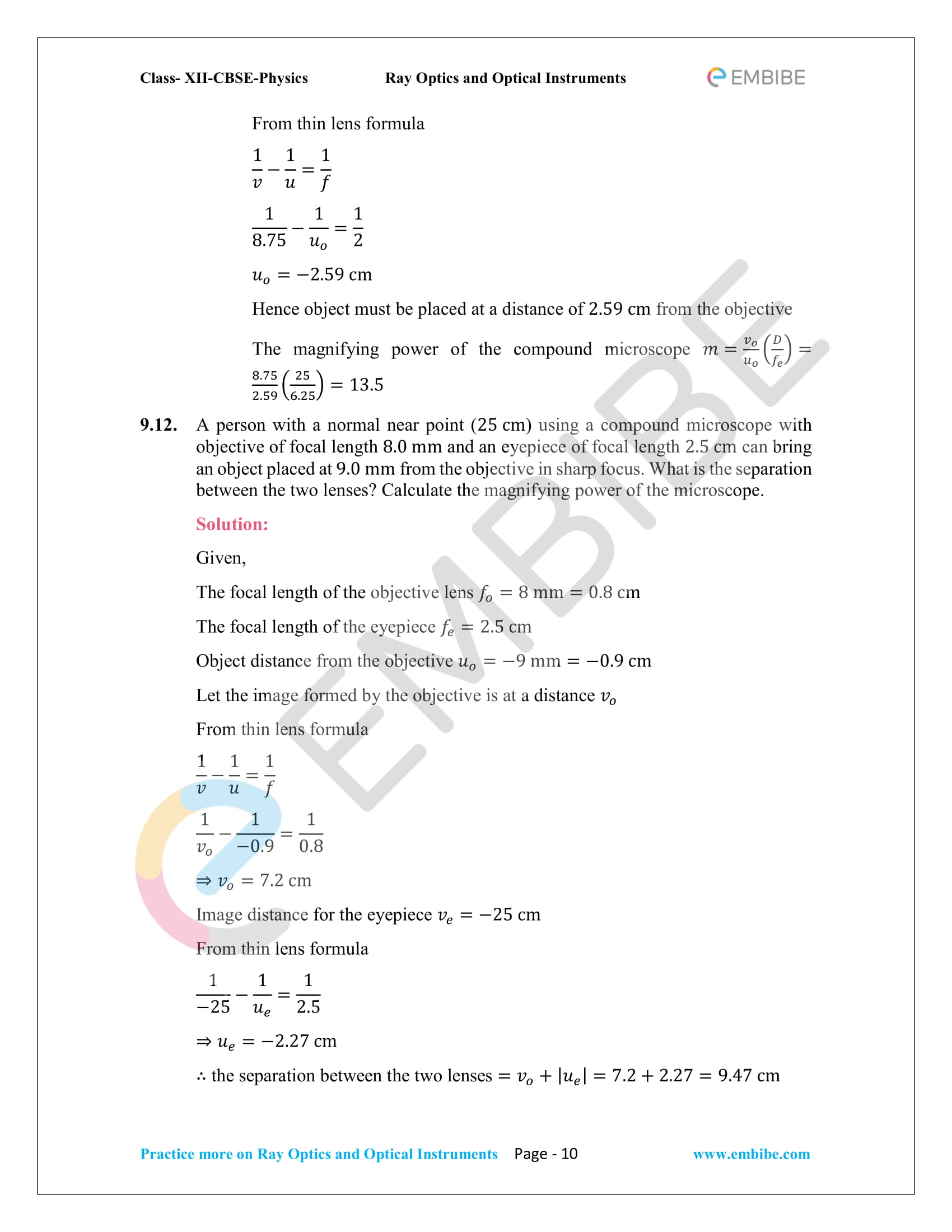 NCERT_Grade 12_Physics_Ch_09_Ray Optics-10