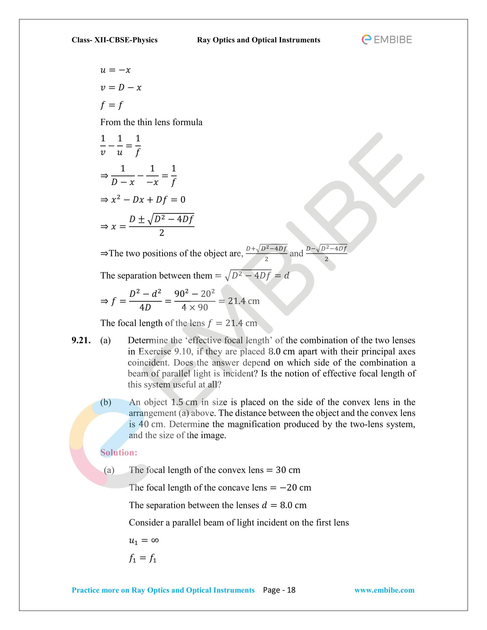 NCERT_Grade 12_Physics_Ch_09_Ray Optics-18