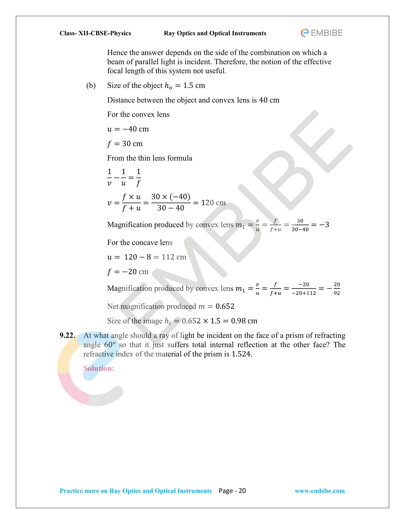 NCERT_Grade 12_Physics_Ch_09_Ray Optics-20