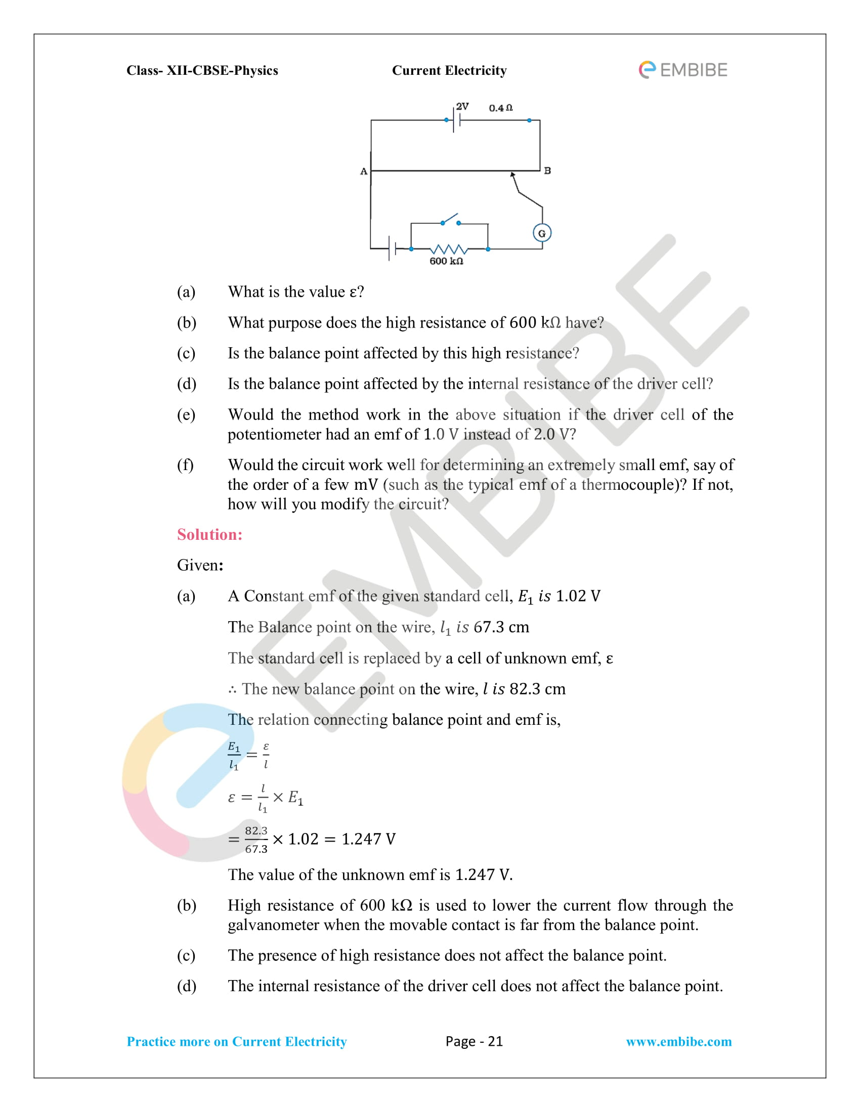 NCERT Solutions for Class 12 Physics Chapter 3