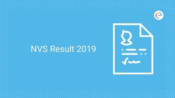 NVS Result 2019