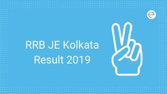 RRB Kolkata JE Result