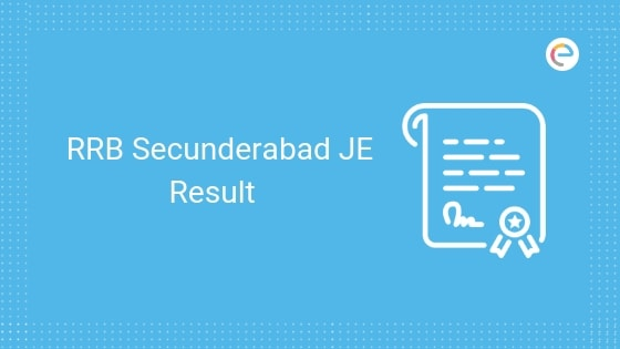 RRB Secunderabad JE Result