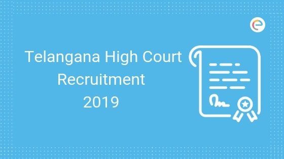 Telangana High Court Recruitment 2019 – Apply Online For 1539 Steno