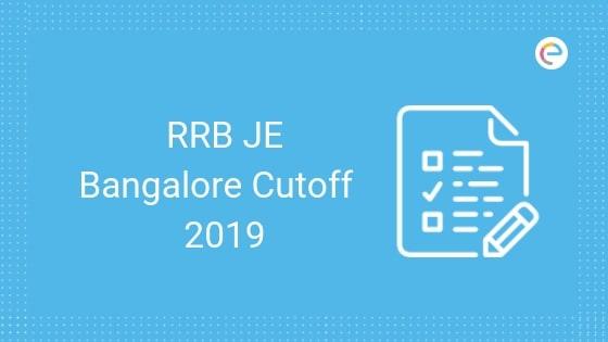 RRB Bangalore JE Cutoff