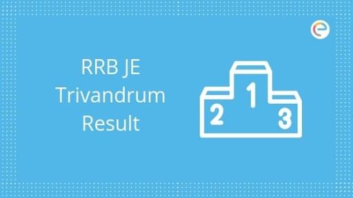 RRB Thiruvananthapuram JE Result
