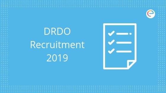 DRDO Recruitment 2019 embibe
