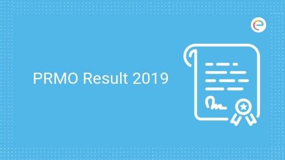 PRMO Result 2019