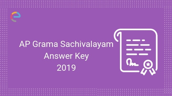 AP Grama Sachivalayam Answer Key