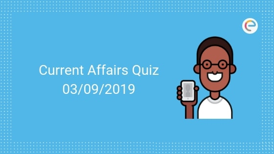 Todays GK & Current Affairs Quiz For September 3