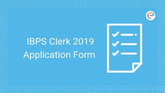 IBPS Clerk Application Form