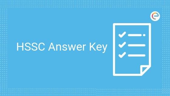 HSSC Answer Key