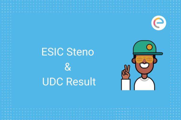 ESIC Result