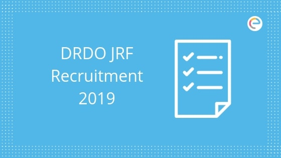 DRDO JRF Recruitment 2019: Walk-In-Interview For Junior Research Fellowship Posts