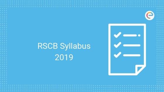 RSCB syllabus embibe
