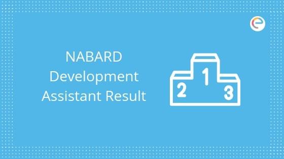 NABARD Development Assistant Result 2019 embibe