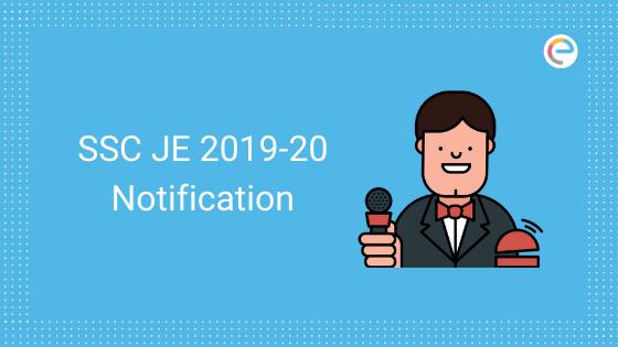 SSC JE Notification 2019-20 embibe