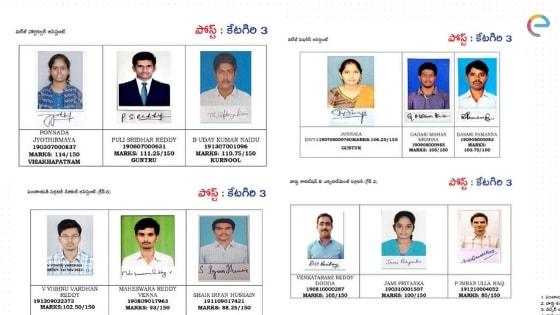 AP Grama Sachivalayam Result Released @ gramasachivalayam.ap.gov.in - Check AP Grama Toppers, Merit List, Cutoff