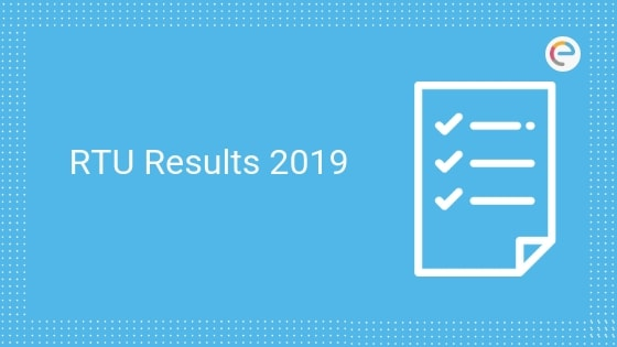 RTU Result 2019-20 (Declared) – Check Rajasthan Technical University Exam Result For (B.Tech, B.Arch., M.Tech, M.Arch, MBA, MCA)