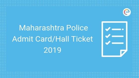 Maharashtra Police Admit Card