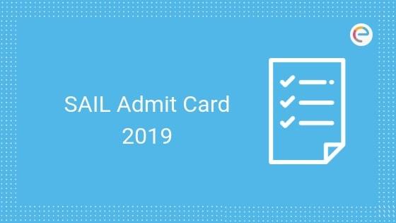 sail admit card embibe