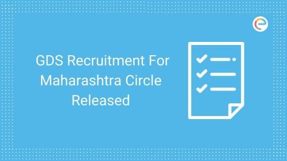 GDS Recruitment Maharashtra 2019 embibe