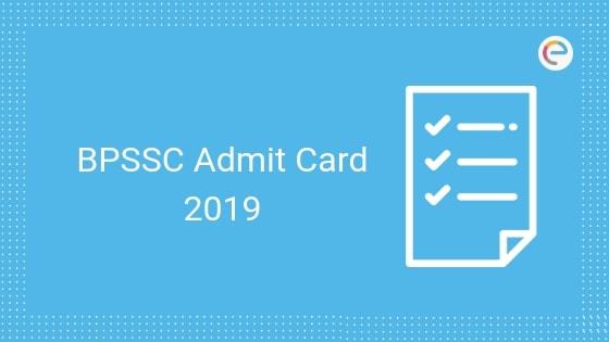 bpssc admit card embibe