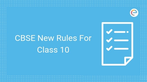 cbse new rules for class 10