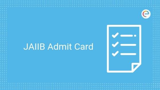 JAIIB Admit Card