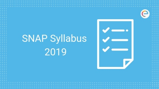 SNAP Syllabus 2019