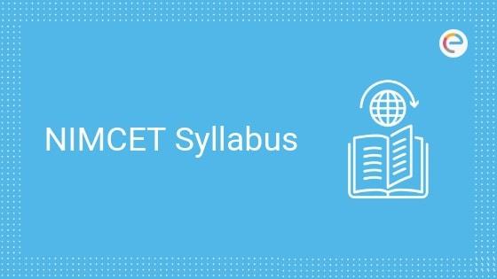 NIMCET Syllabus