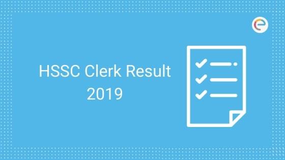 HSSC Clerk Result