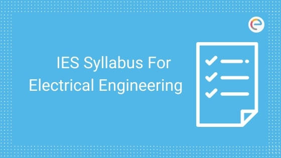 IES Syllabus for EEE
