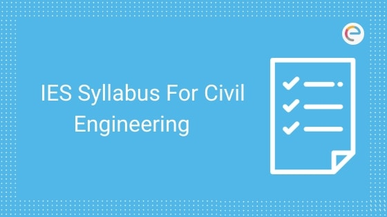 ies syllabus for civil engineering
