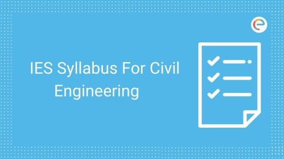 ies syllabus for civil engineering